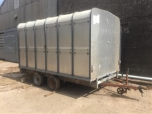 Ifor Williams 12' c/w Cattle Gate