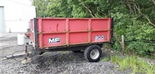MF 2 Tonne Tipping Trailer
