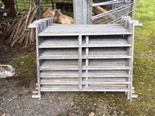 20 Galvanised 4ft Sheep Hurdles