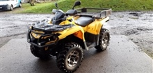 Can-Can Outlander 500cc quad bike, 13,000 miles