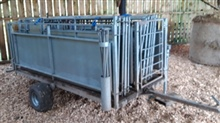 Algo mobile sheep handling system